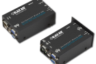 Dual-Video KVM Extender w/ RS-232